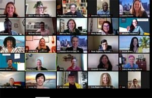 Virtual Event Networking at SF Small Business Week, event planning