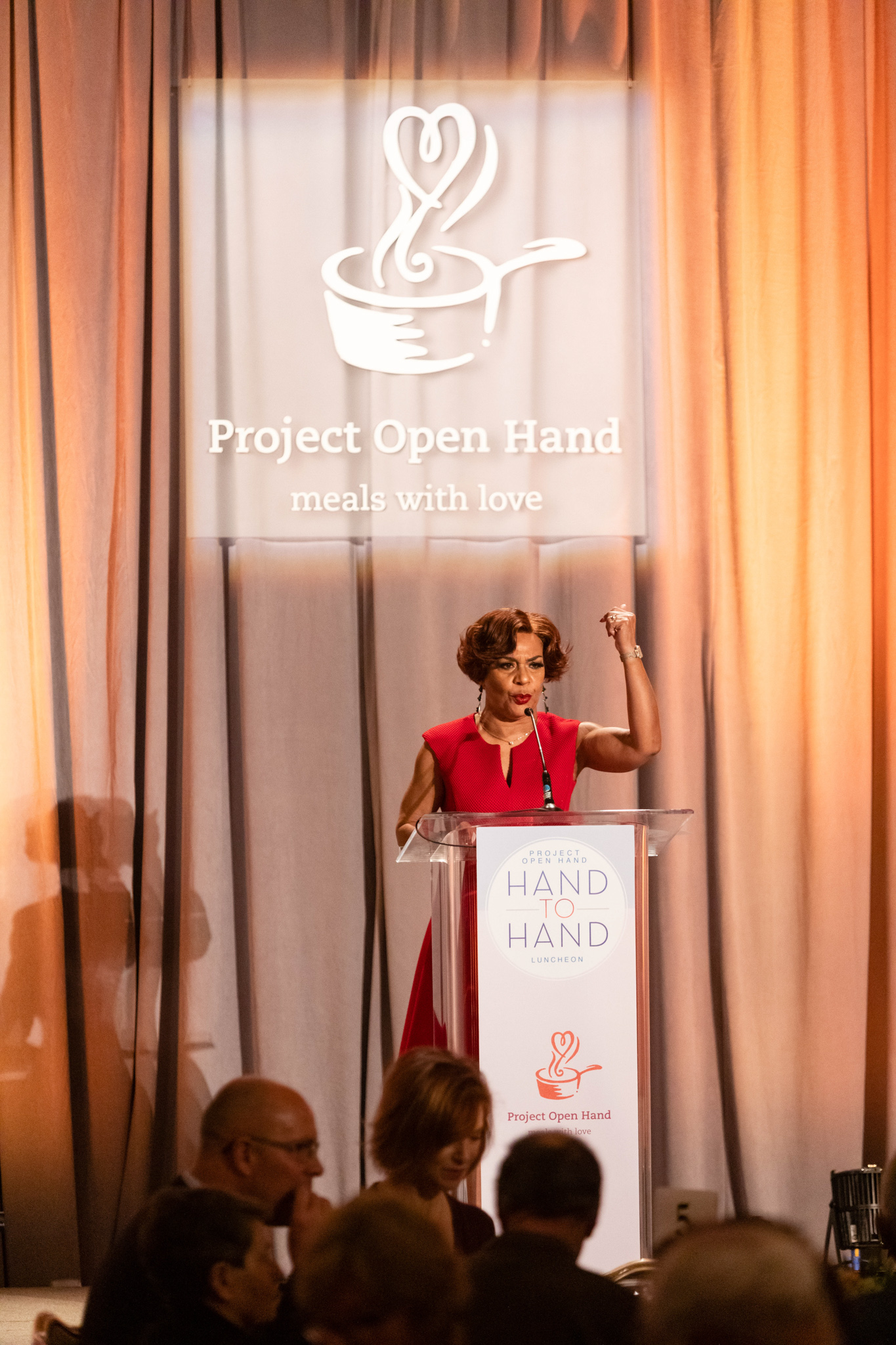 MC at the Hand to Hand Fundraiser Gala