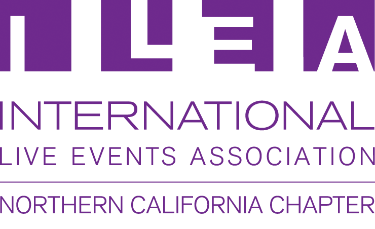A logo of ILEA-NCC, International Live Events Association, Northern California Chapter.