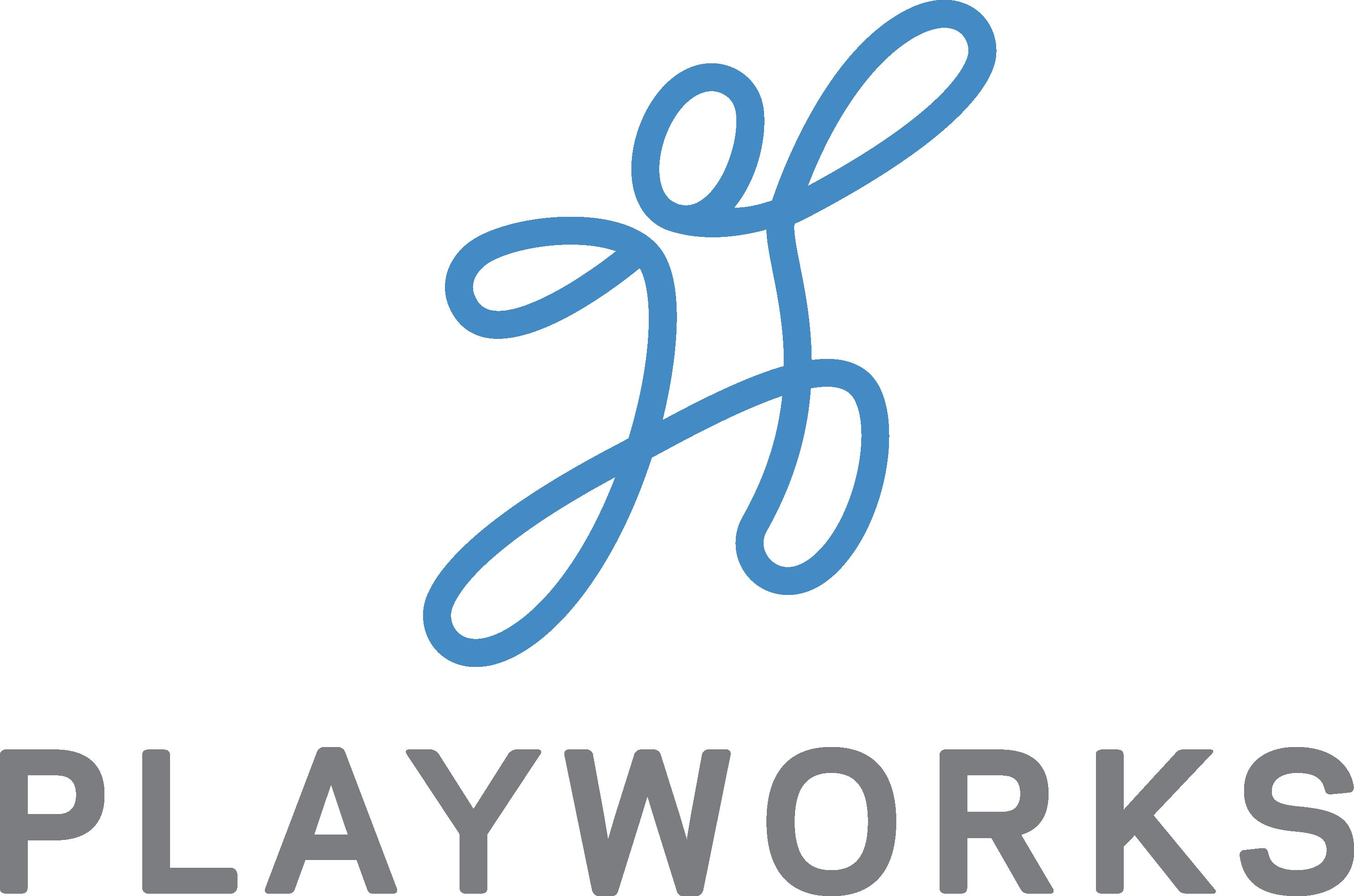 A logo of Playworks.