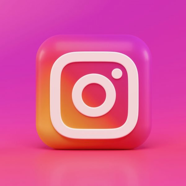 A stock image featuring Instagram's logo taken by Alexander Shatov from Unsplash.